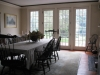 Dining Room w/French Doors
